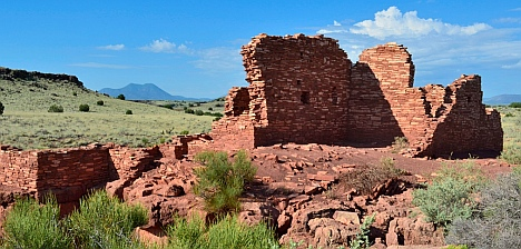 Lomaki Pueblo at Wupatki National Monument, Flagstaff, AZ