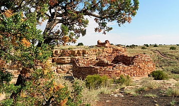 Box Canyon Dwellings in Wupatki National Monument.
