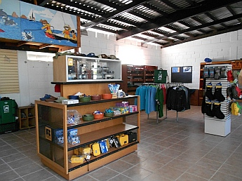 National Outdoor Leadership School camp store.