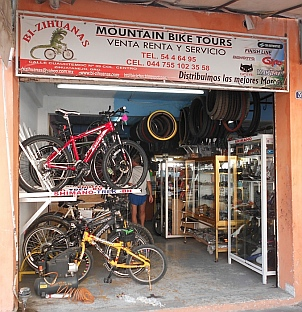 Bi-Zihuanas bike shop, Zihuatanejo, Mexico.