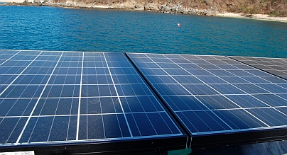 Boat Solar panel partial shade problems