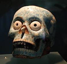 Artifact found in the Copalita ruins in Las Bahías de Huatulco, Mexico