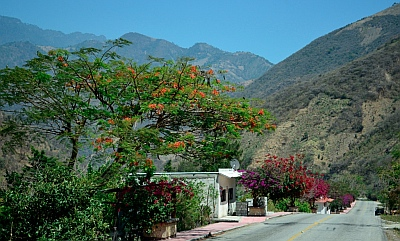 Mountain towns in Chiapas, Mexico