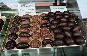 Chocolates in San Cristobal de las Casas, Chiapas, Mexico