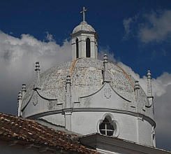 Church steeple, Comitán, Chiapas, Mexico