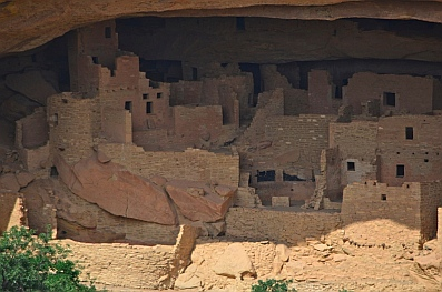 Here are a few of the rooms at Cliff Palace.