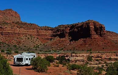 We have found one of the most amazing camping spots ever, on Scenic Route 95 in Utah.