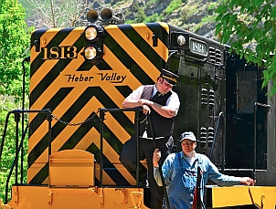 Heber Valley Railroad at Vivian Park.