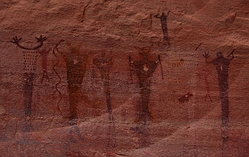 Pictographs, San Rafael Swell, Utah