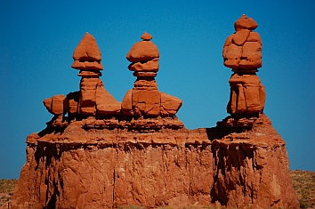 The Greeters at Goblin Valley, Utah