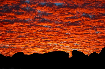 Sunrise at Valley of Fire State Park, Las Vegas, Nevada