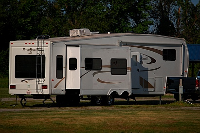 We live fulltime in our RV, a Hitchhiker II LS 34.5 RLTG fifth wheel