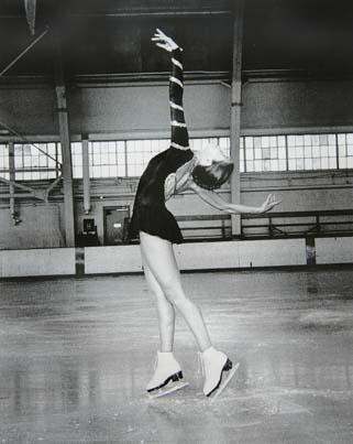 Emily skating