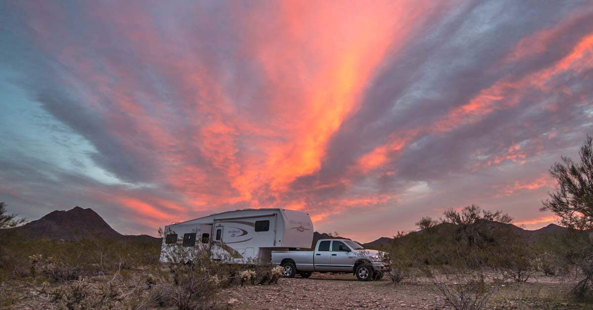 Arizona Rv Boondocking Camping And Travel Highlights