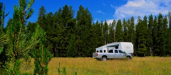 Big Hole, Montana, camping spot