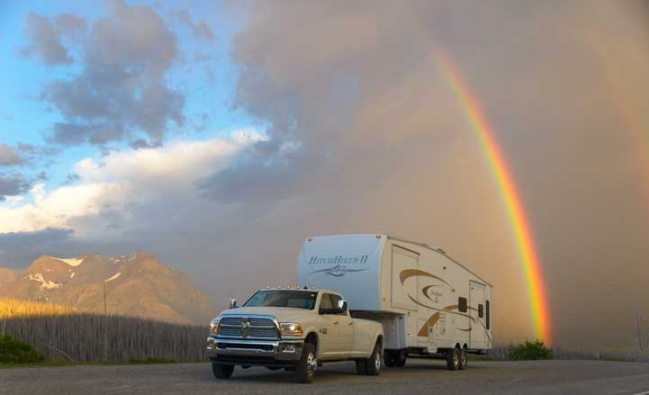 Fifth wheel RV living stories from Montana-min