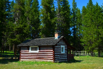 Hogan Cabin, Gibbons Pass, MT
