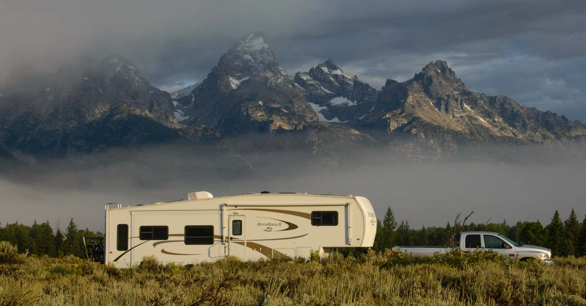 Wyoming Rv Travel And Camping Adventures In The Tetons