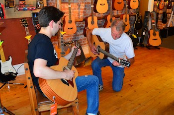 Playing at Mountain Music Center, Hamilton, MT