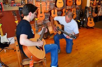 Playing at Mountain Music Center, Hamilton, MT