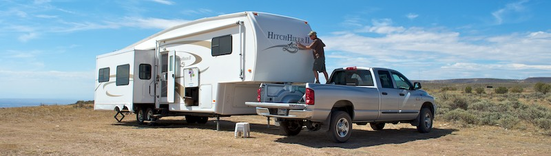 Washing your RV while boondocking
