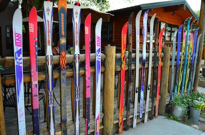 Ennis Montana Fence made of Skis