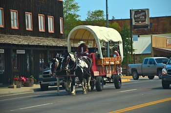 Pinedale, Wyoming, Carriage Rides