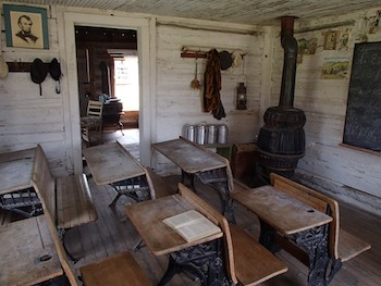 Nevada City, Montana Classroom