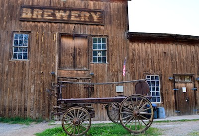 Virginia City, Montana, Brewery building