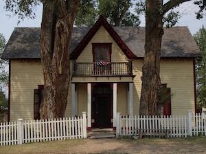 Nevada City, MT, Victorian House