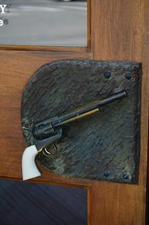 Jackson Wyoming Pistol Doorknob