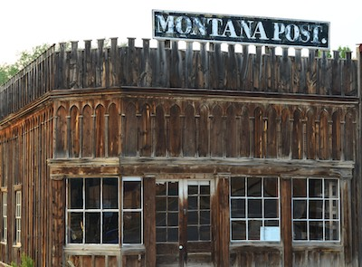 Virginia City, Montana, Montana Post newspaper building