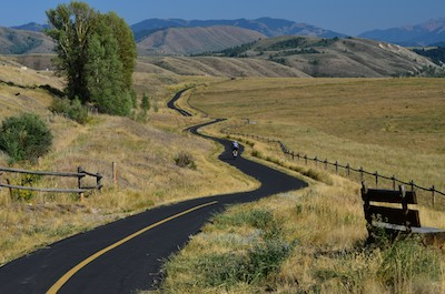 Jackson Wyoming Paved Bike Path