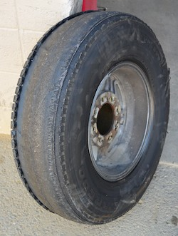 Tire without any tread