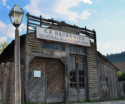 Virginia City, Montana, commercial building