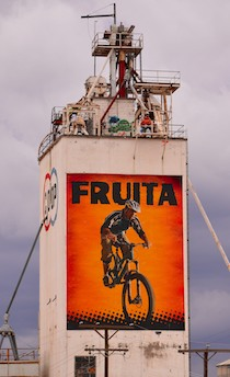 Fruita Colorado National Monument Mountain Biker