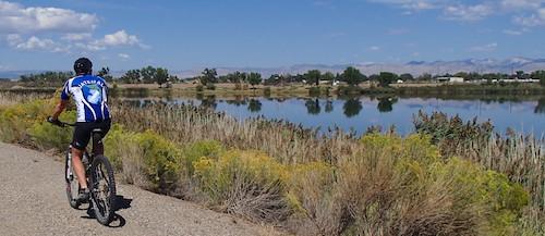 Fruita Colorado Paved River Bike Path