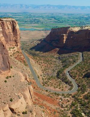 Colorado National Monument - Scenic Rim Rock Drive