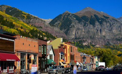 Telluride Colorado Autumn Foliage