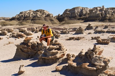 Bisti Badlands New Mexico the egg factory