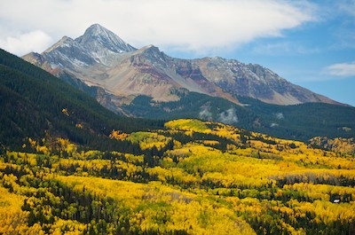 Dallas Divide Telluride Colorado Autumn Colors aspen
