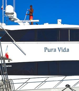 Pura Vida at Marina Chahue Bahias de Huatulco Mexico