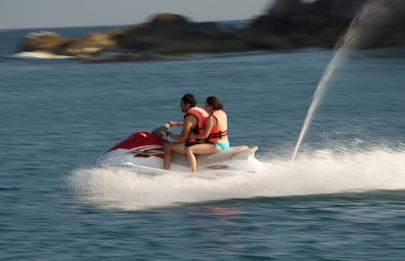 Tangolunda Bay Huatulco jet ski