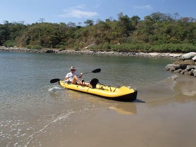 Tangolunda Bay, Bahias de Huatulco, kayaking