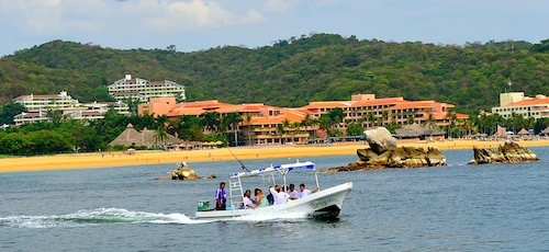 Tangolunda Bay in the Bays of Huatulco