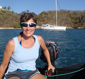 Santa Cruz Beach Huatulco dinghy ride and groovy