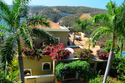 Las Palmas Resort Huatulco - visited on our Mexico cruise