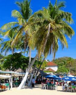 Santa Cruz Beach Huatulco