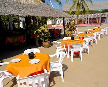 Santa Cruz Beach Al Frente del Mar Restaurant