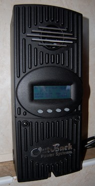 RV Solar Panel Installation Outback Charge Controller